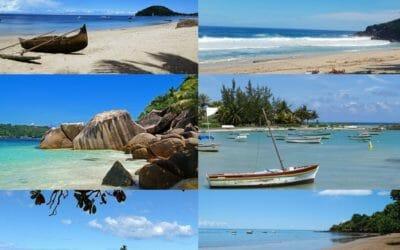 Les plus belles plages du trapeze des Mascareignes